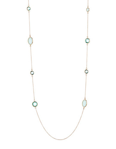 Kate Spade New York Here Comes the Sun Scatter Necklace-BLUE-One Size