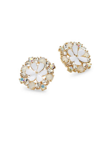 Kate Spade New York Here Comes the Sun Statement Stud Earrings-WHITE-One Size