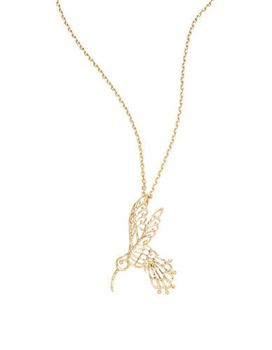 Kate Spade New York Golden Age Mini Pendant Necklace-GOLD-One Size
