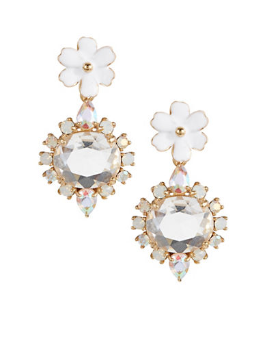 Kate Spade New York Garden Party Drop Earrings-WHITE-One Size