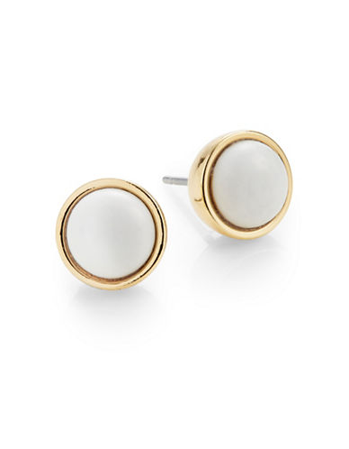 Kate Spade New York Rise and Shine Small Stud Earrings-WHITE-One Size