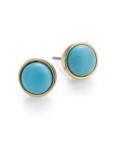 Kate Spade New York Rise and Shine Small Stud Earrings-TURQUOISE-One Size