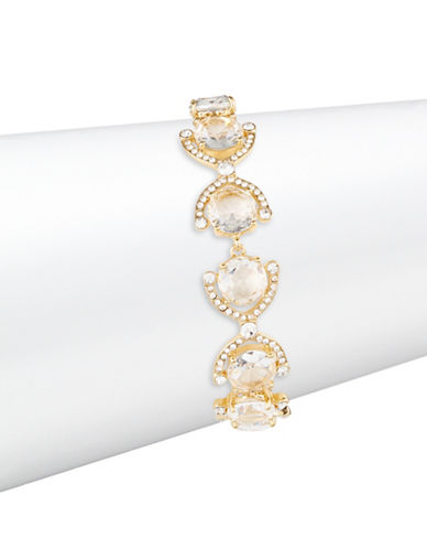 Kate Spade New York Crystal Cascade Bracelet-GOLD-One Size