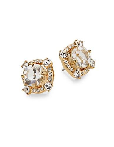 Kate Spade New York Crystal Cascade Stud Earrings-GOLD-One Size