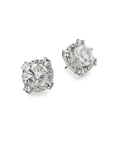 Kate Spade New York Crystal Cascade Stud Earrings-SILVER-One Size