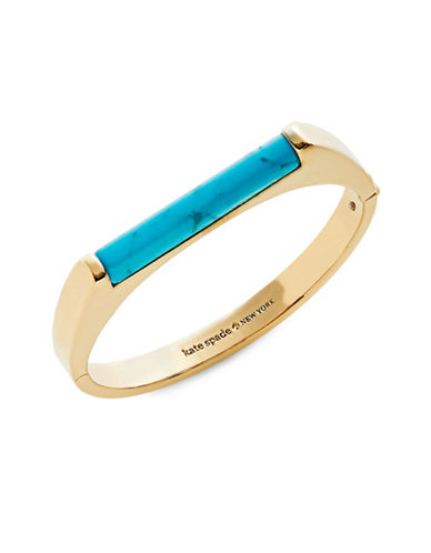 Kate Spade New York Building Blocks Bangle Bracelet-BLUE-One Size