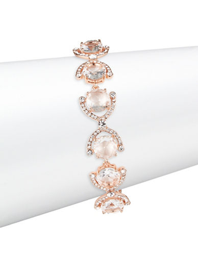 Kate Spade New York Crystal Cascade Bracelet-ROSE GOLD-One Size