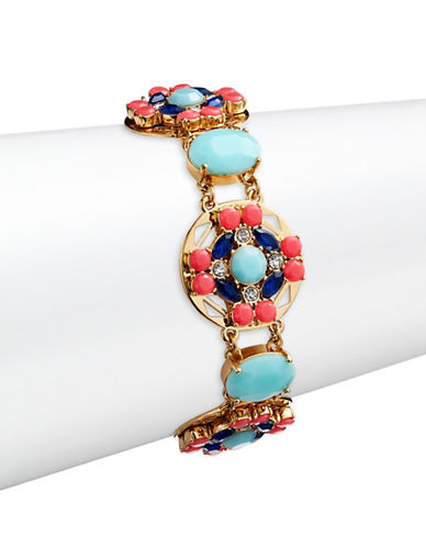 Kate Spade New York Jeweled Tile Bracelet-MULTI-One Size