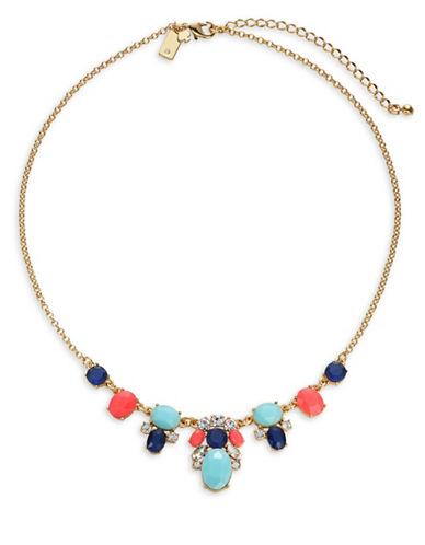 Kate Spade New York Crystal Cascade Mini Necklace-MULTI-One Size