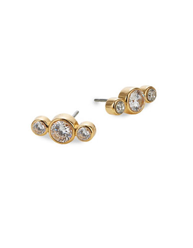 Kate Spade New York Round Stud Earrings-GOLD-One Size