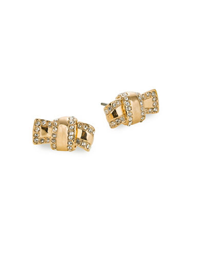 Kate Spade New York Goldtone Knot Stud Earrings-GOLD-One Size