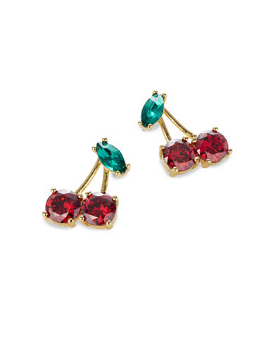 Kate Spade New York Ma Cherie Goldplated Earrings-MULTI-One Size
