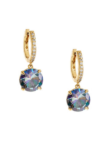 Kate Spade New York Bright Ideas Goldtone Drop Earrings-BLUE-One Size