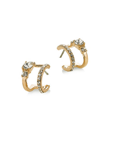 Kate Spade New York Bright Ideas Double Hoop Earrings-GOLD-One Size