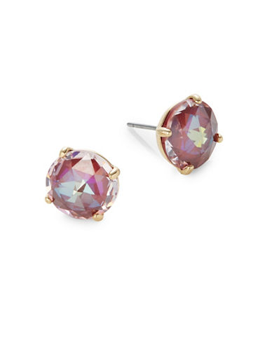 Kate Spade New York Bright Ideas Goldplated Stud Earrings-RED-One Size