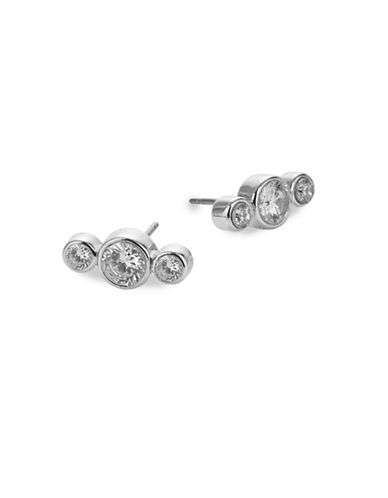 Kate Spade New York Round Stud Earrings-SILVER-One Size