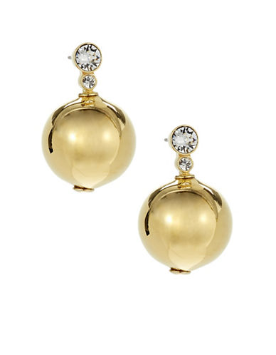 Kate Spade New York Golden Girl Goldplated Bauble Earrings-GOLD-One Size
