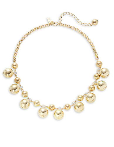 Kate Spade New York Golden Girl Goldplated Bauble Necklace-GOLD-One Size
