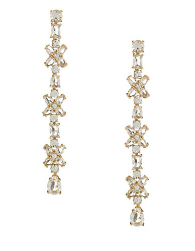 Kate Spade New York Take a Shine Goldtone Linear Earrings-GOLD-One Size