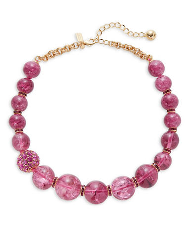 Kate Spade New York True Colours Bead Necklace-PINK-One Size