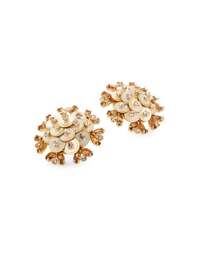 Kate Spade New York Crystal Be Bold Sequence Stud Earrings-GOLD-One Size