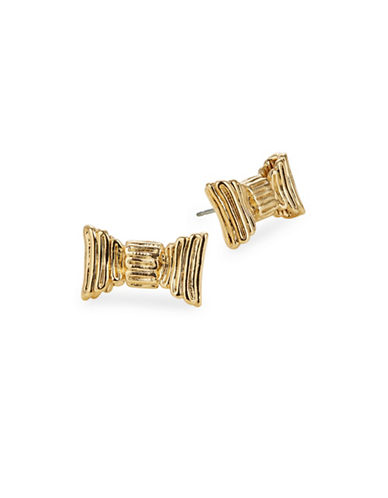 Kate Spade New York All Wrapped Up Stud Earrings-GOLD-One Size