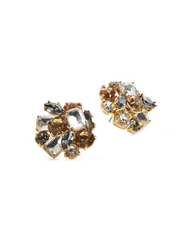 Kate Spade New York Crystal Cluster Stud Earrings-ASSORTED-One Size