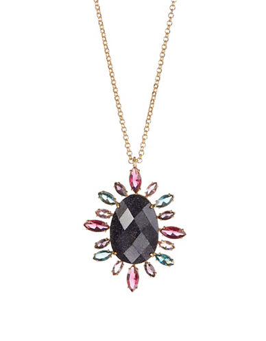 Kate Spade New York Night Sky Multicolour Crystal Pendant Necklace-ASSORTED-One Size