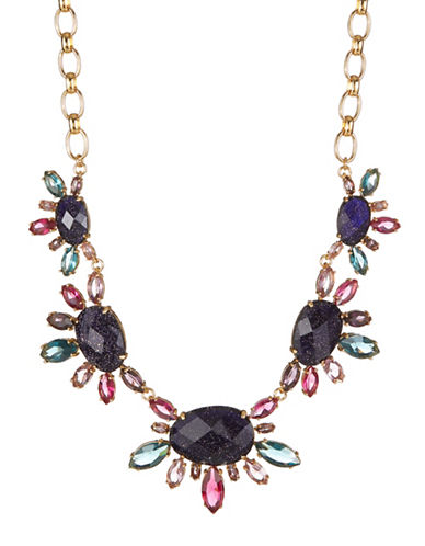 Kate Spade New York Night Sky Multicolour Crystal Statement Necklace-ASSORTED-One Size