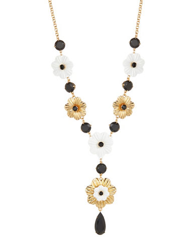 Kate Spade New York Posy Grove Statement Necklace-MULTI-One Size