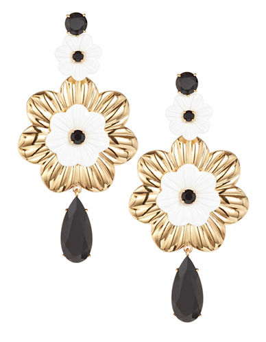 Kate Spade New York Posy Grove Statement Earrings-MULTI-One Size