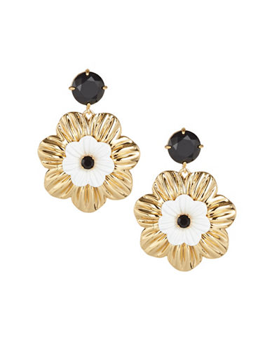 Kate Spade New York Posy Grove Floral Drop Earrings-MULTI-One Size