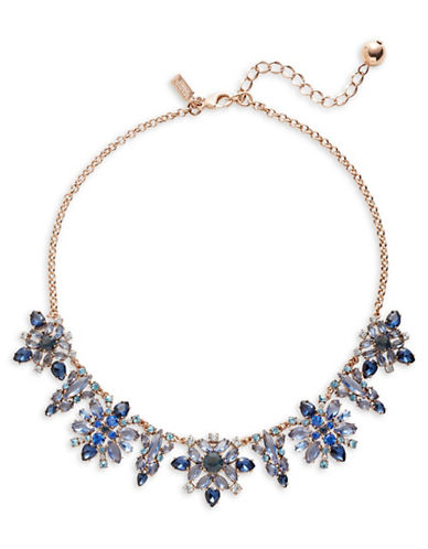 Kate Spade New York Crystal Statement Necklace-BLUE-One Size