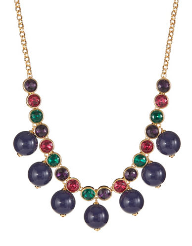 Kate Spade New York True Colors Multicolour Crystal Statement Necklace-ASSORTED-One Size