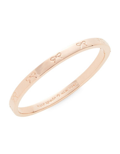 Kate Spade New York Bow Bangle Bracelet-ROSE GOLD-One Size