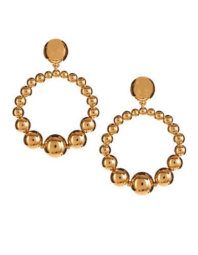 Kate Spade New York Bauble Hoop Earrings-GOLD-One Size