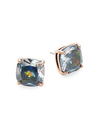 Kate Spade New York Crystal Square Stud Earrings-BLUE-One Size