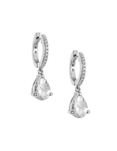 Kate Spade New York Teardrop Hug Earrings-SILVER-One Size