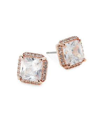 Kate Spade New York Princess Stud Earrings-ROSE GOLD-One Size