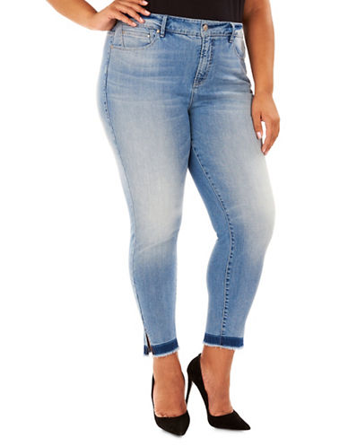 Rebel Wilson Cruiser Skinny Jeans-BLUE-22W