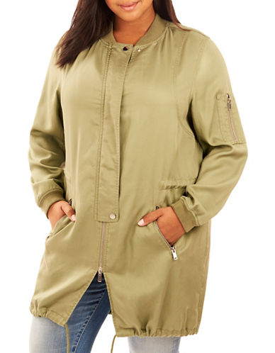 Rebel Wilson Long-Sleeve Anorak-GREEN-3X