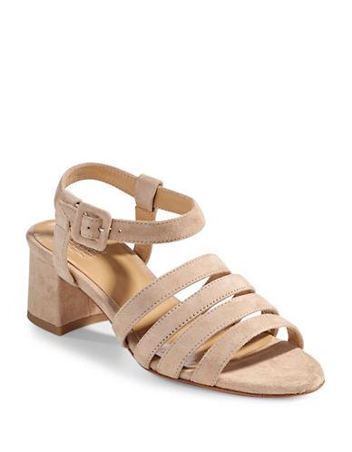 Maryam Nassir Zadeh Alma Suede Sandals-STRAW-EUR 39/US 9