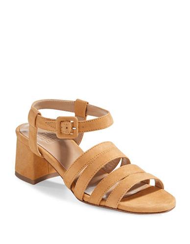 Maryam Nassir Zadeh Alma Suede Sandals-TANGERINE-EUR 37.5/US 7.5