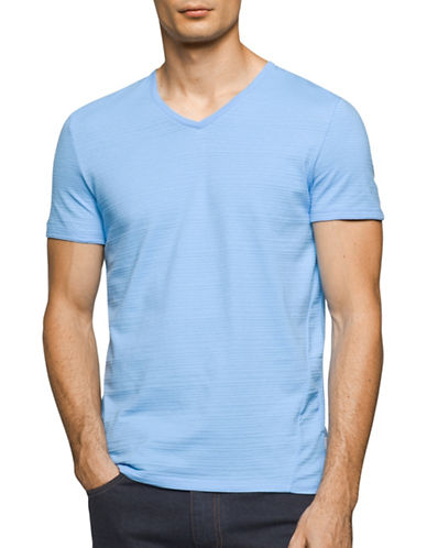 Calvin Klein Extreme Slim Fit T-Shirt-BLUE-Large 89003069_BLUE_Large