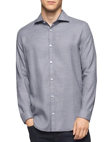 Calvin Klein Infinite Cool Sport Shirt-GREY-Large
