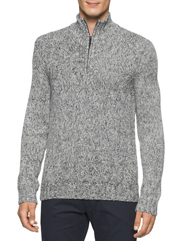 Calvin Klein Racked Wave Sweater-GREY-Large 88717240_GREY_Large