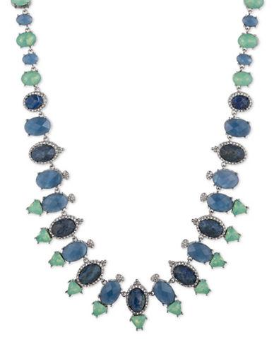 Jenny Packham Multi-Stone Statement Necklace-BLUE-One Size