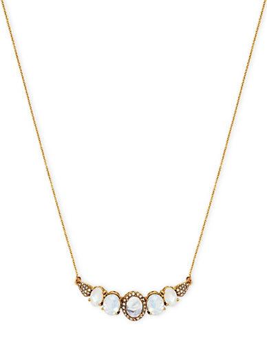 Jenny Packham Stone Statement Necklace-GOLD-One Size