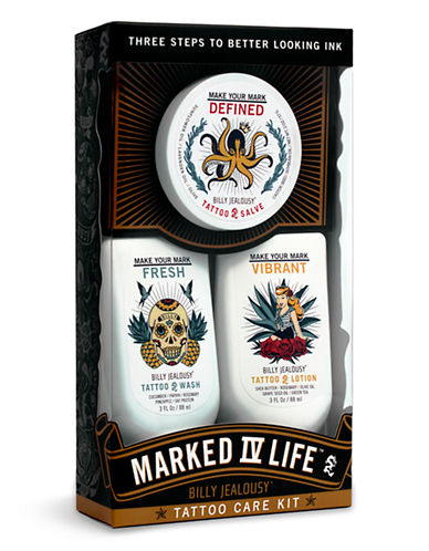 Billy Jealousy Marked IV Life Tattoo Care Kit-NO COLOUR-0