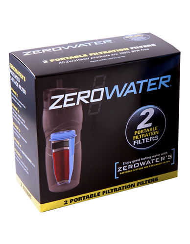 Zerowater 2 Pack Mini Filters-BLUE-One Size